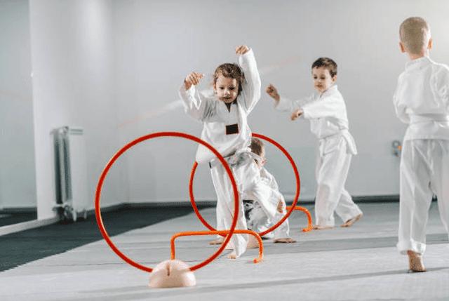 Kidsbirthday, Guido's Martial Arts Academy