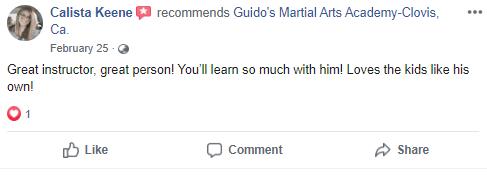 Preschools2, Guido's Martial Arts Academy